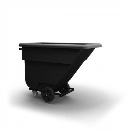 Tilt Truck 1/2 yard - Black - XRAY - Stencil (2) - Cover - Hinged access panel