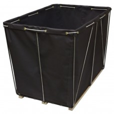 18 Bushel Black Removable Style Basket.