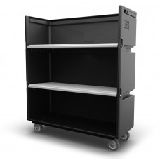 Convertible Shelf Bulk Cart - Black - XRAY - Nylon Cover