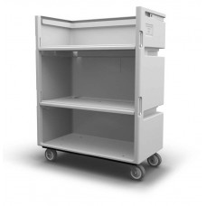 Convertible Shelf Bulk Cart - Black - XRAY - Stencil (2) - Nylon Cover