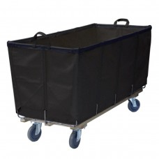 10 Bushel Black Flatwork-Ironer Production Truck (With Spring Lift Platform)