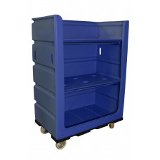 48 Cu. Ft. Turnabout Truck w/ Plastic Shelves, Blue