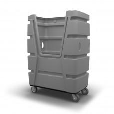 Bulk Container Cart - Black - XRAY - Stencil (2)