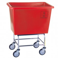 6 Bushel Elevated Poly Truck, Red