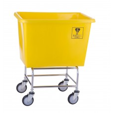 8 Bushel Elevated Poly Truck, Yellow