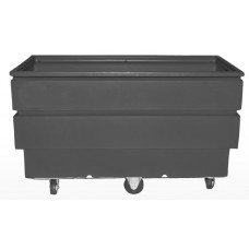 Utility Container Cart - Black - Forktubes