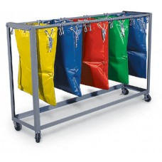 "5 Bag 19"" Mail Bag Rack"