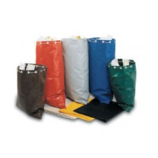 "26""H x 23""W Colored Vinyl Laminate Bags"