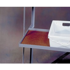 3 Shelf Flat Tub Distribution Rack - Hardboard