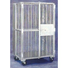 2 Shelf Security Cart