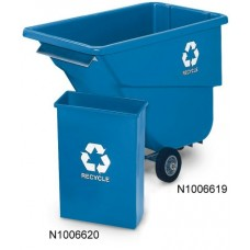 Utility Tilt Truck Recycling Cart