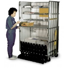 Deluxe General Purpose Folding Mail Cart