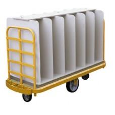 12 Compartment U-Truck Insert Rack