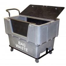 Ergonomic Bag Waste Cart