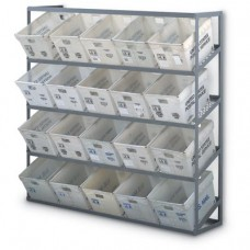20 Tub Wall Mounted Rack