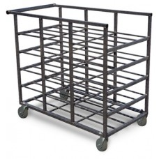 15 Tray Capacity Mail Tray Distribution Rack