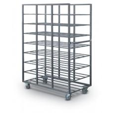24 Tray Capacity Mail Tray Distribution Rack