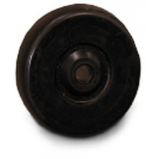 """Replacement 4"""" Wheels for Material Handling Container Truck (Cube Cart)"""