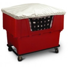 ½ Body Nylon Cart Cover for Material Handling Container Truck (Cube Cart)