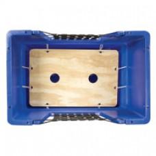 Ergonomic Spring Platform for Material Handling Container Truck (Cube Cart)
