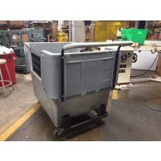 "24"" Ergonomic Push Handle for Material Handling Container Truck (Cube Cart)"