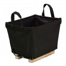 4 Bushel Black Small Carry Baskets