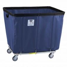 14 Bushel Permanent Liner Basket Truck w/ Antimicrobial Liner, Navy